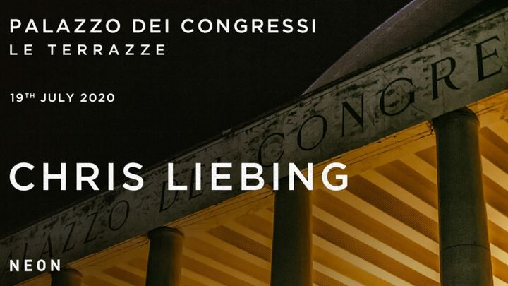 Cover for event: Chris Liebing at Palazzo Dei Congressi - Terrazze