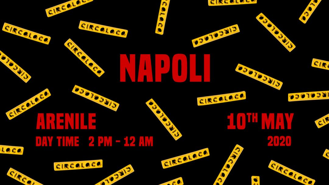 Cartell de l'esdeveniment Circoloco Napoli