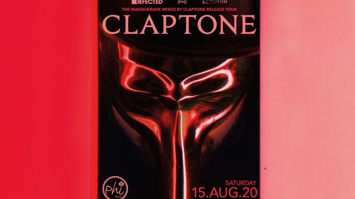 Cover for event: Claptone