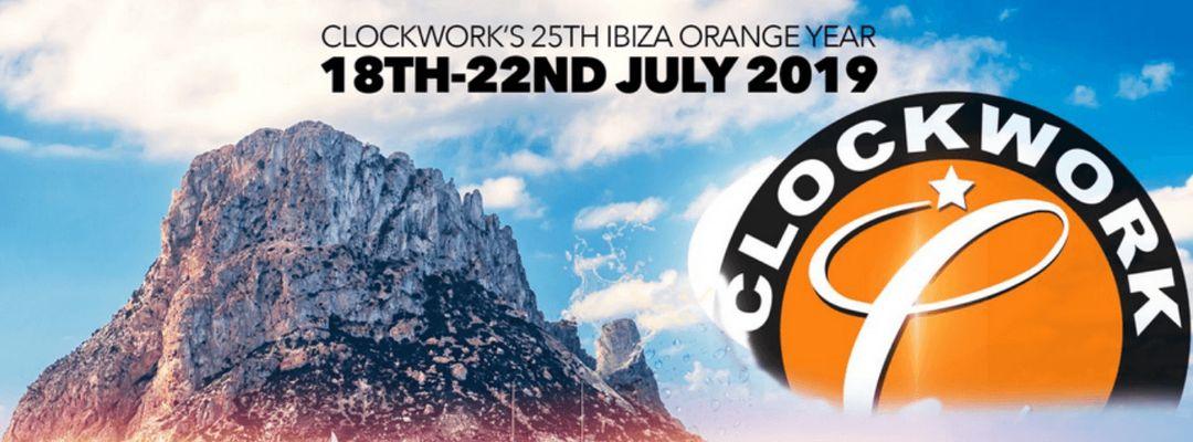 CLOCKSTOCK ORANGE IBIZA event cover