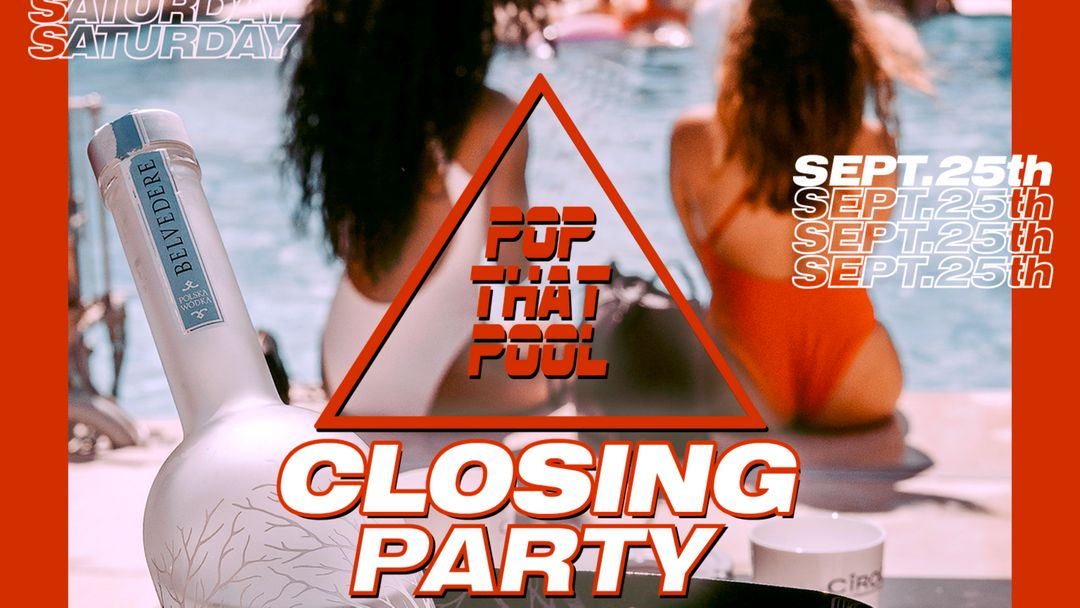 Closing Party - Pop That Pool event cover
