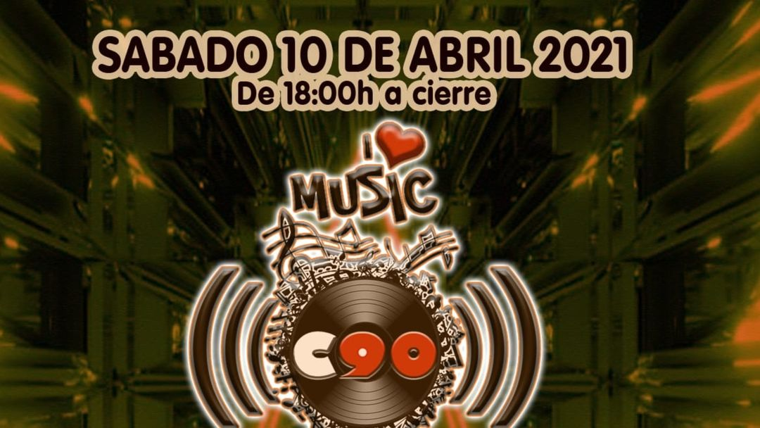 Capa do evento CLUB 90 SABADO 10 ABRIL