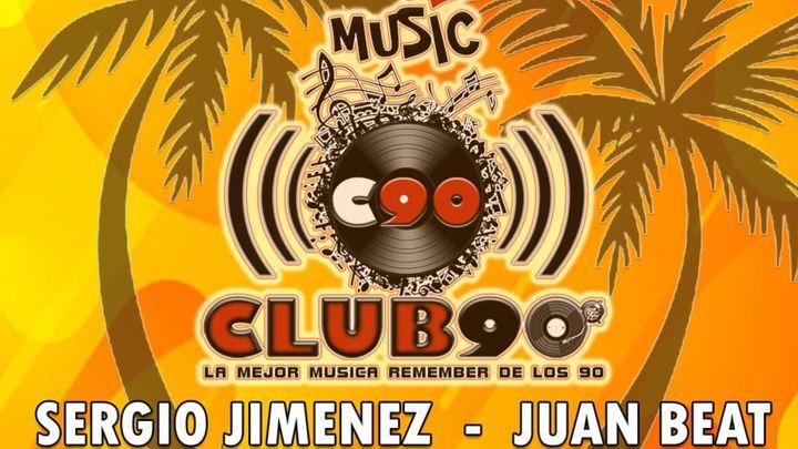 Cover for event: CLUB 90 SABADO 19 JUNIO