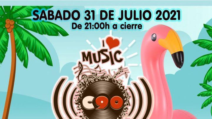 Cover for event: CLUB 90 SABADO 31 JULIO