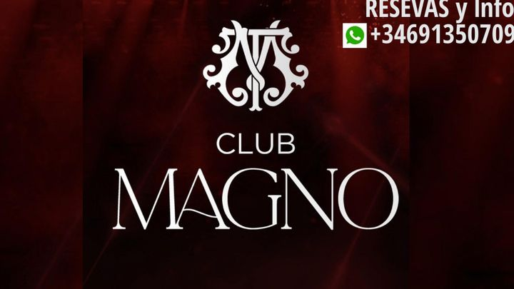Cover for event: CLUB MAGNO HALLOWEEN  ( Sabado 30 Octubre )
