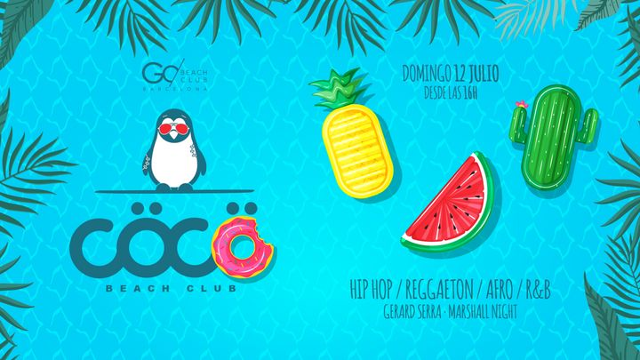 Cover for event: CÖCÖ - Pool Party