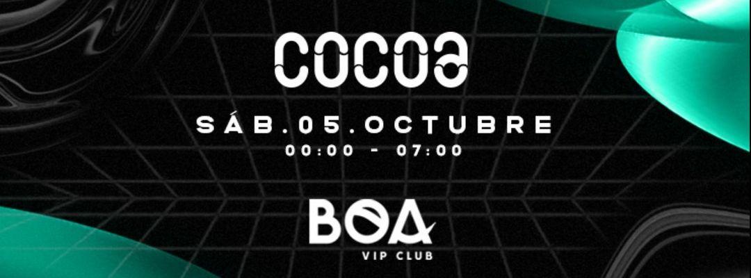 COCOA @ Opening en BOA | Dennis Cruz-Eventplakat