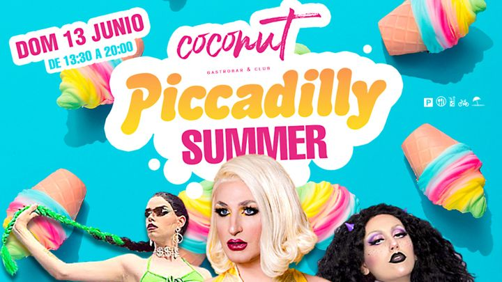 Cover for event: Coconut - Piccadilly Summer