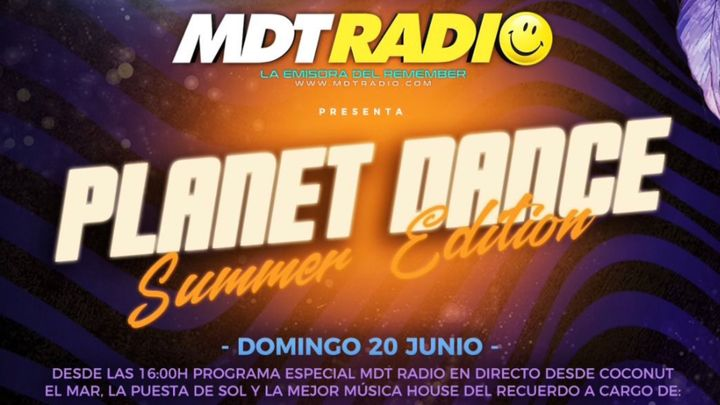 Cover for event: Coconut - Planet Dance  MDT Radio