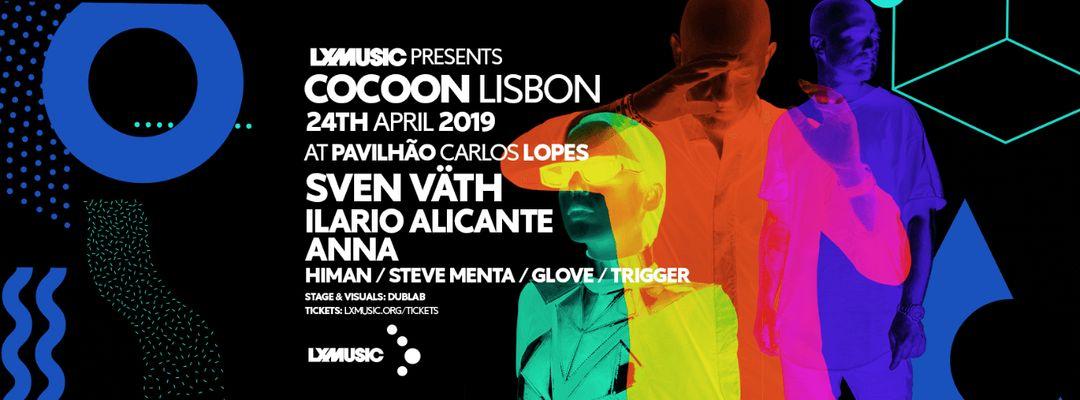 Cocoon Lisbon w/ Sven Väth, Ilario Alicante and Anna-Eventplakat
