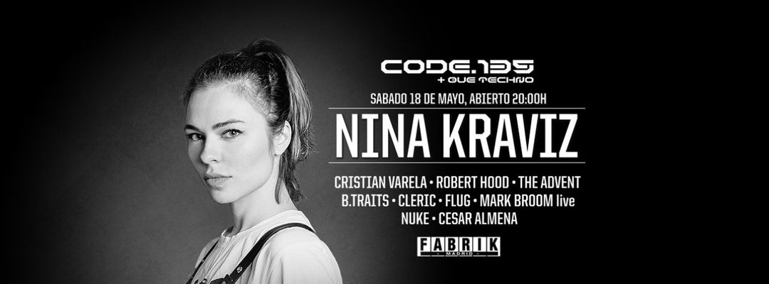 Couverture de l'événement Code 135 | Nina Kraviz