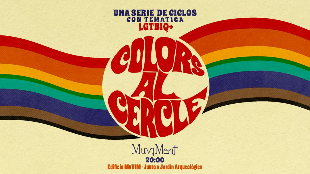 Cartel del evento Colors al cercle
