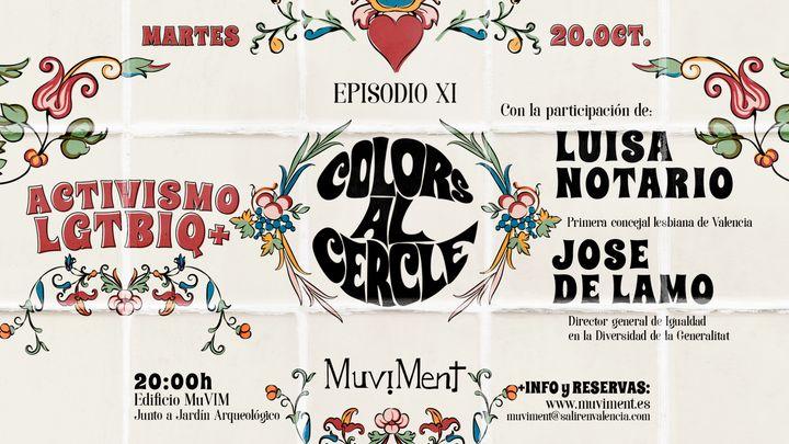 Cover for event: Colors al cercle - Activismo Lgtbiq+