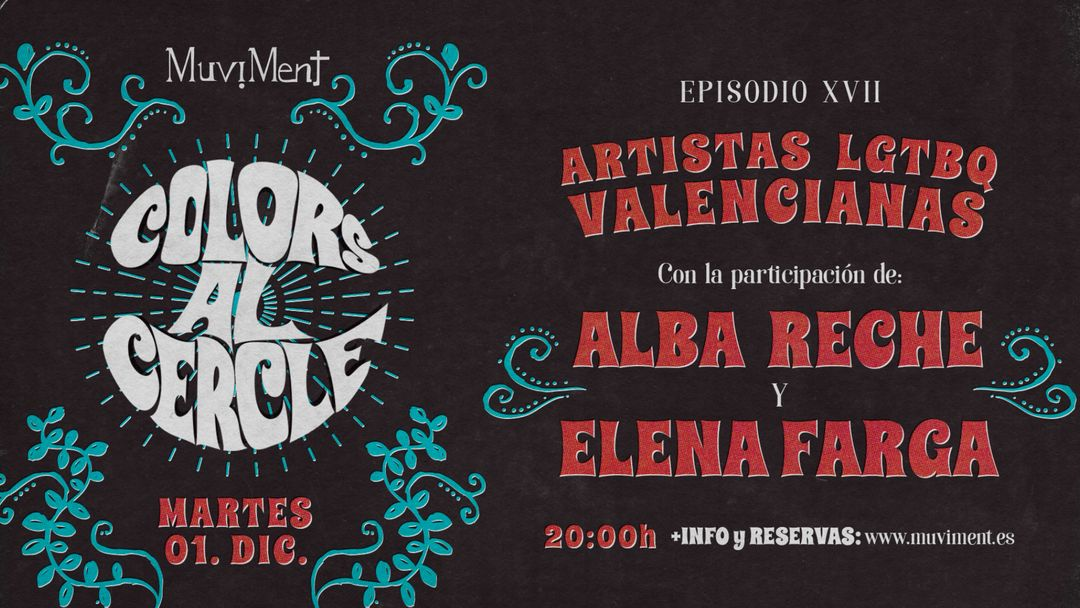 Colors al cercle · Artistas LGTBI event cover