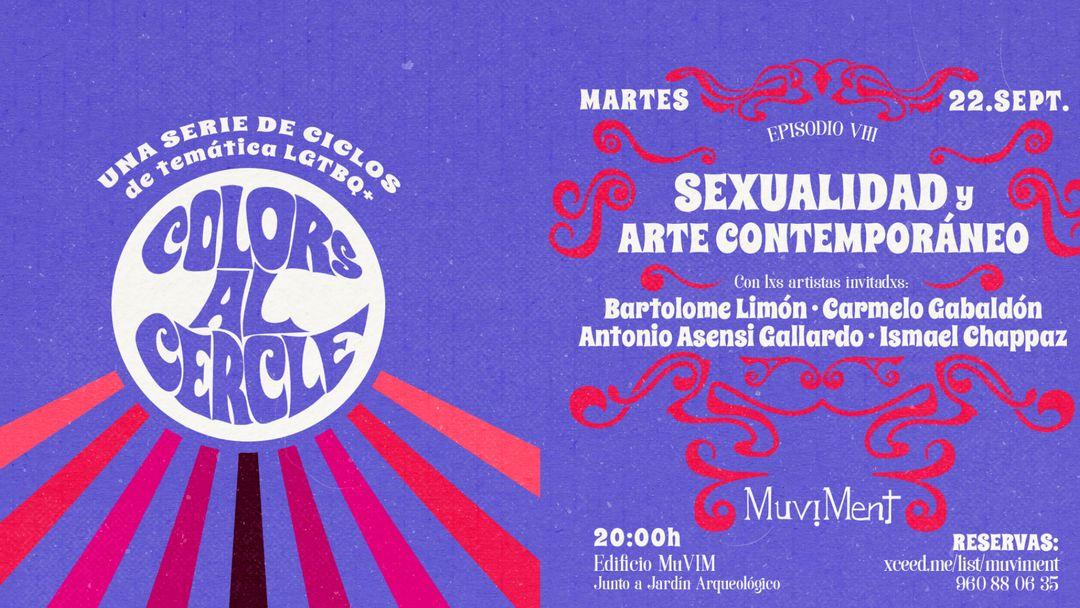 Colors al cercle - Ciclo LGBTI- Arte contemporáneo Queer-Eventplakat