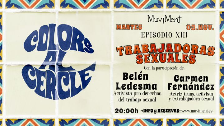 Cover for event: Colors al cercle · Trabajadoras sexuales