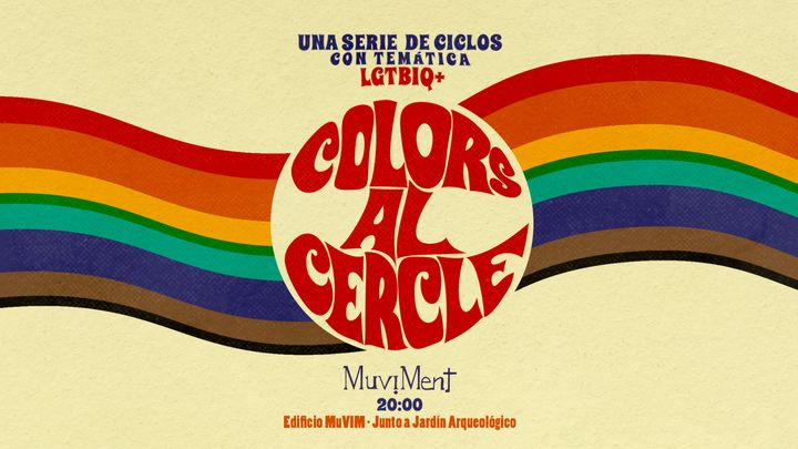 Cover for event: Colors al cercle - Ciclo LGBTI - New Drag School: Nuevas formas en la practica Drag.