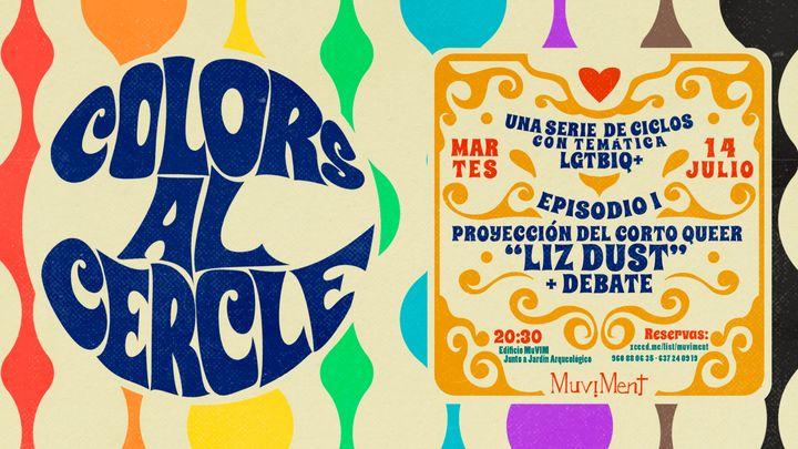 Cover for event: Colors al cercle - Una serie de ciclos con temática LGBTI