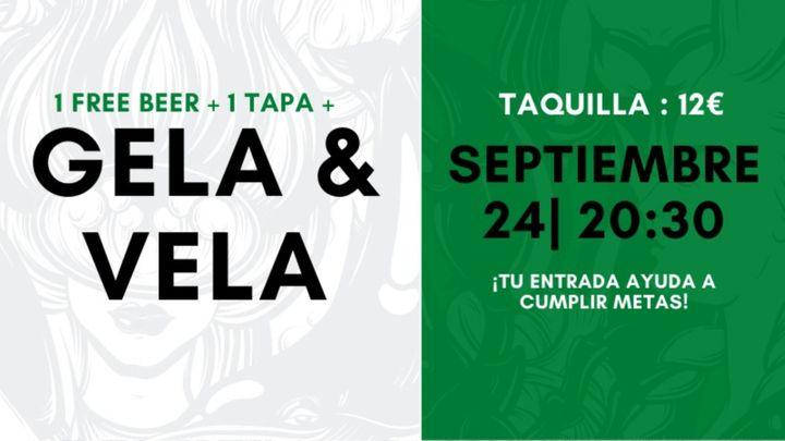 Cover for event: Concierto Gela & Vela