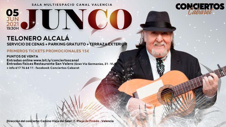 Cover for event: Conciertos Cabaret - Junco