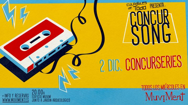 Cover for event: Concurseries · Un quiz sobre series de tv al aire libre