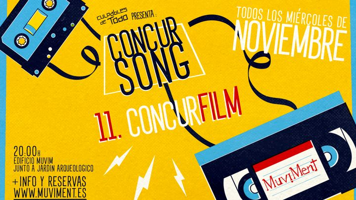 Cover for event: ConcurSong · ConcurFilm · Un quiz sobre cine al aire libre