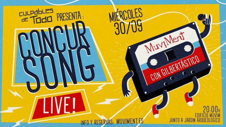 Cover for event: ConcurSong LIVE con Gilbertástico · Un quiz sobre música al aire libre