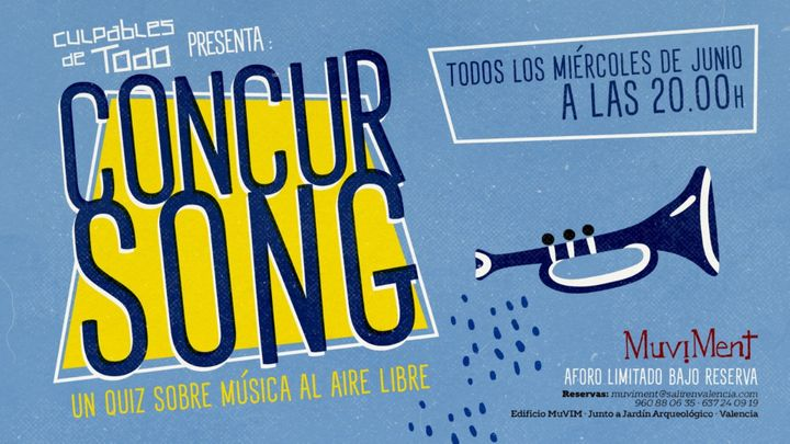 Cover for event: ConcurSong · Un quiz sobre música al aire libre