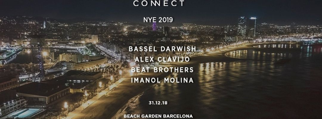 Connect NYE 2019 at Beach Garden event cover