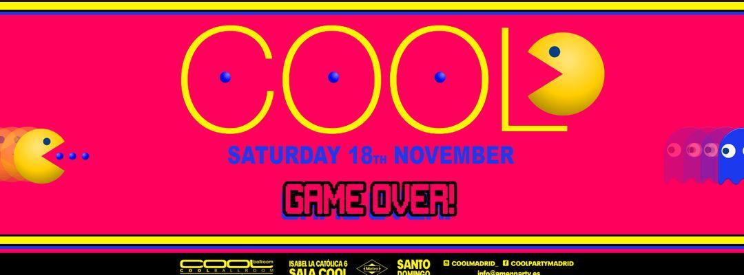 Cartel del evento COOL // DANNY VERDE, LYDIA SANZ, VANESA LEKLEIN Y ESPARTACO