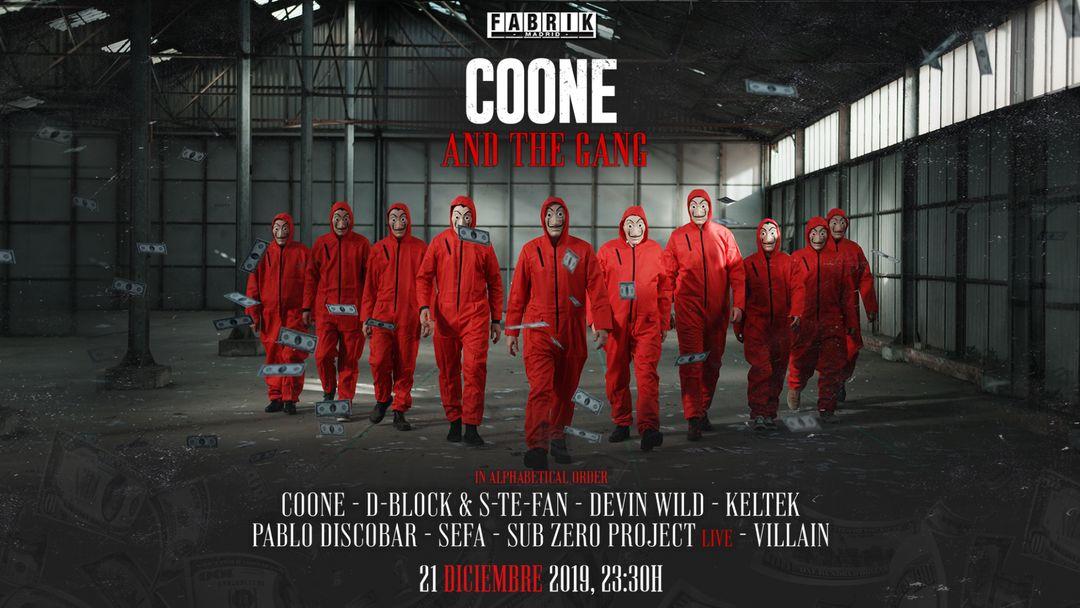 Couverture de l'événement Coone & The Gang
