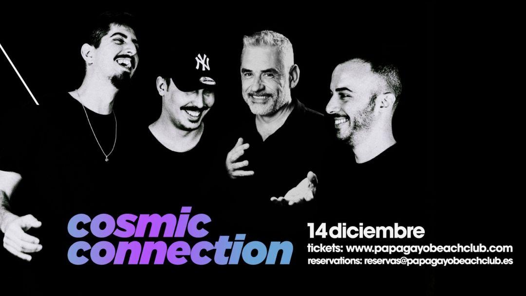 Cartel del evento Cosmic connection with P-split + Luislo