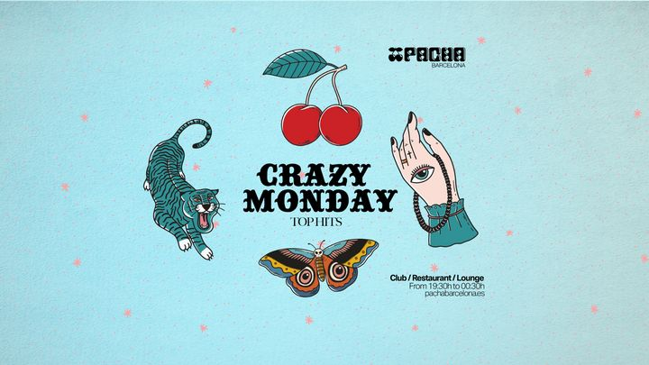Cover for event: CRAZY MONDAYS at Pacha Barcelona