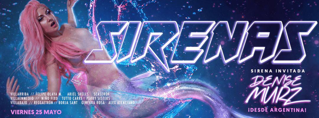 #CUENCAclub 3 SALAS: SIRENAS con Denise Murz + REGGAETRÓN event cover
