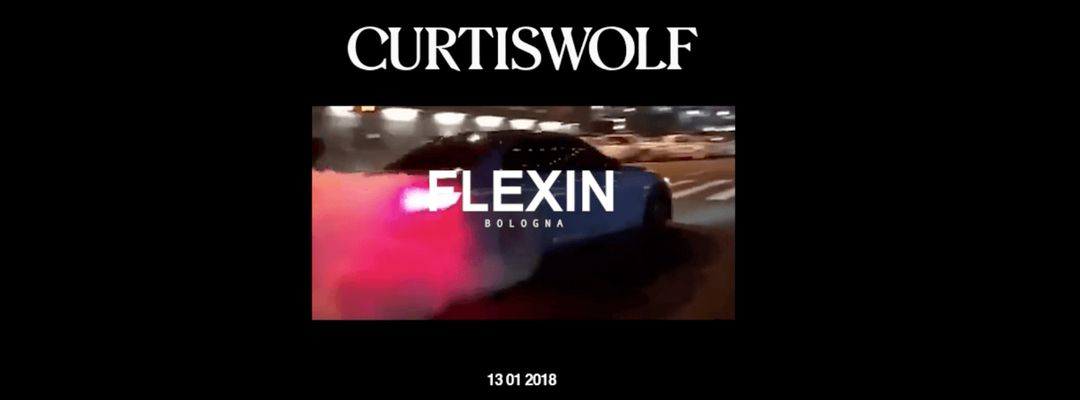 Cartel del evento Curtis Wolf - Fifth Act w/ Flexin