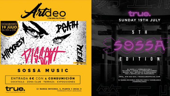Cover for event: D19 - ARTDEO + SOSSA · Tardeo + Exposiciones by True + SOSSA