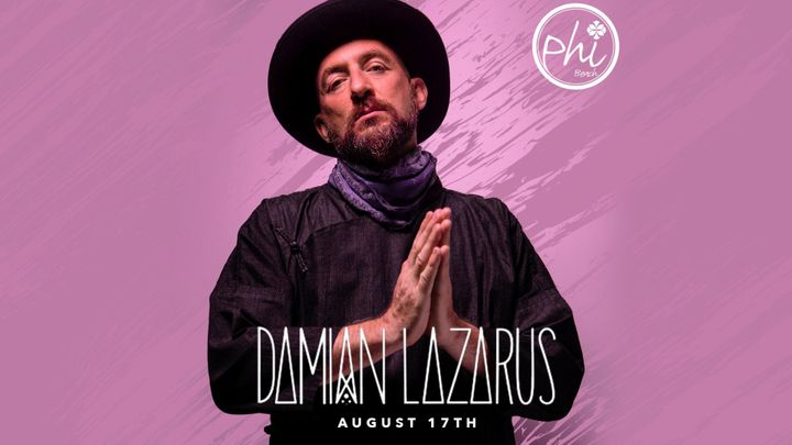 Cover for event: Damian Lazarus