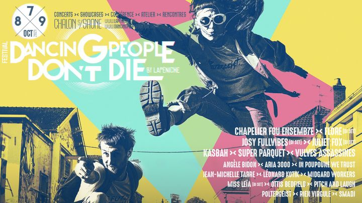 Cover for event: DANCING PEOPLE DON'T DIE - Pass 2 Jours