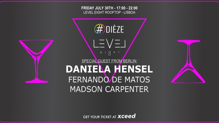 Cover for event: Daniela Hensel  @Level Eight Rooftop