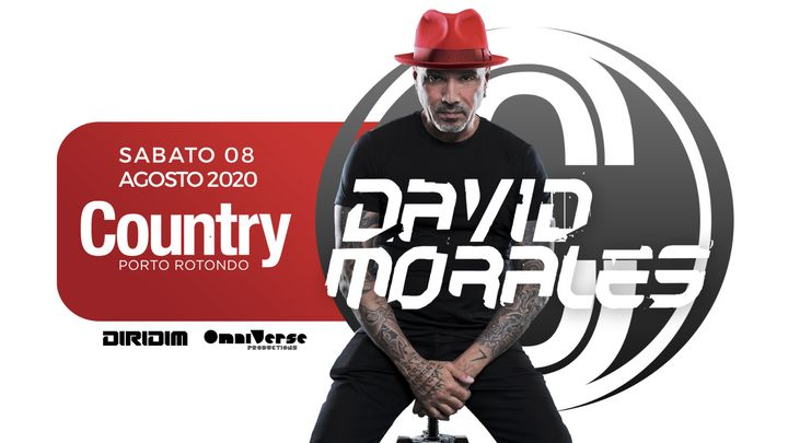 Cover for event: David Morales | Country Club
