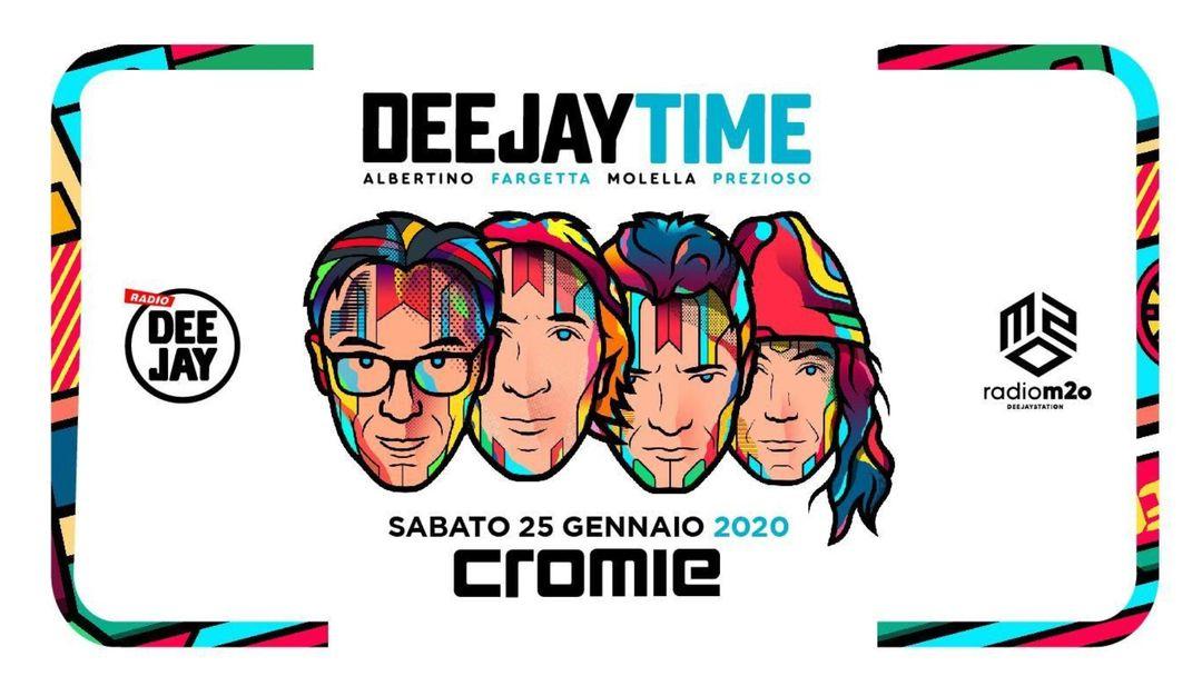 Cartel del evento Deejaytime Reunion