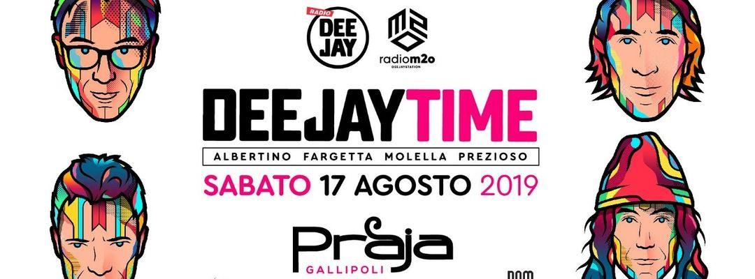 Cartel del evento Deejaytime Reunion w/ Albertino, Fargetta, Molella, Prezioso