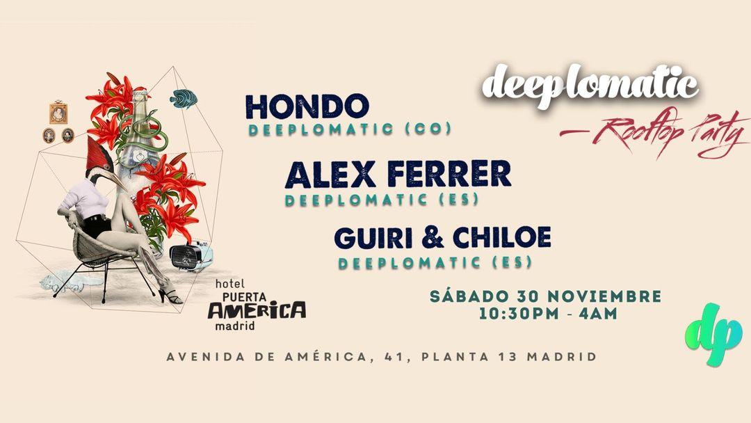 Cartel del evento Deeplomatic Rooftop Party