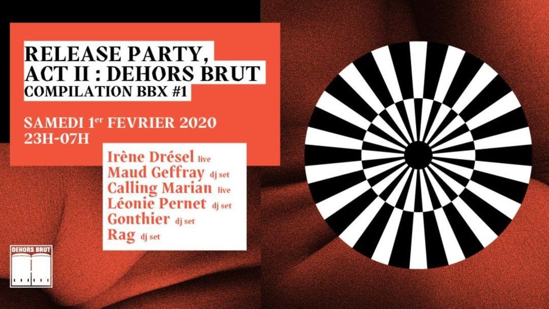 Cartel del evento Dehors Brut x Barbi(e)Turix