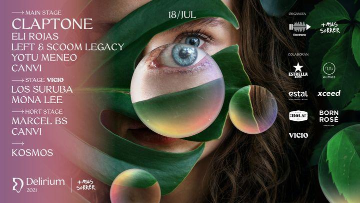 Cover for event: Delirium Festival presenta Claptone