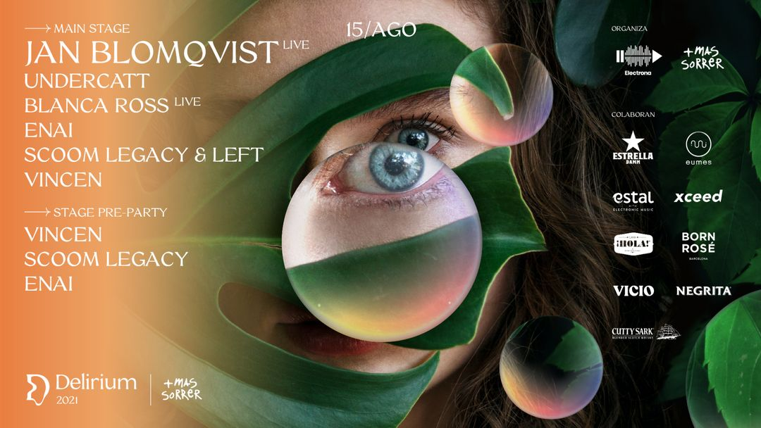 Cartel del evento Delirium Festival presenta Jan Blomqvist LIVE