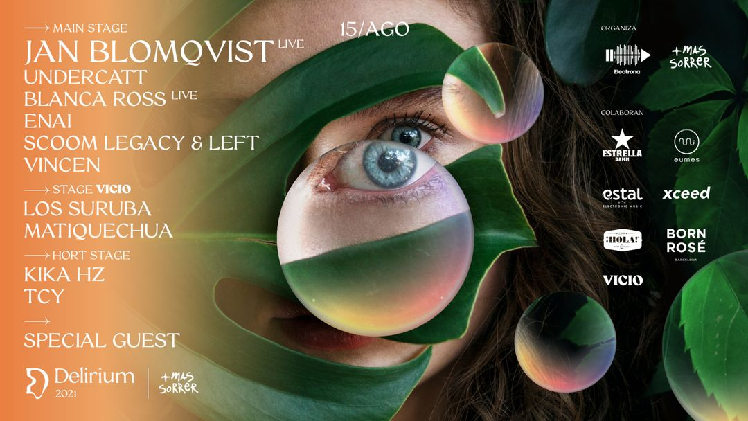 Copertina evento Delirium Festival presenta Jan Blomqvist LIVE
