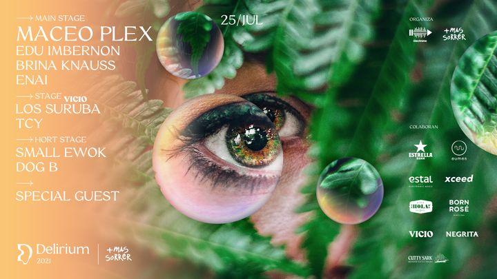 Cover for event: Delirium Festival presenta MACEO PLEX & Edu Imbernon