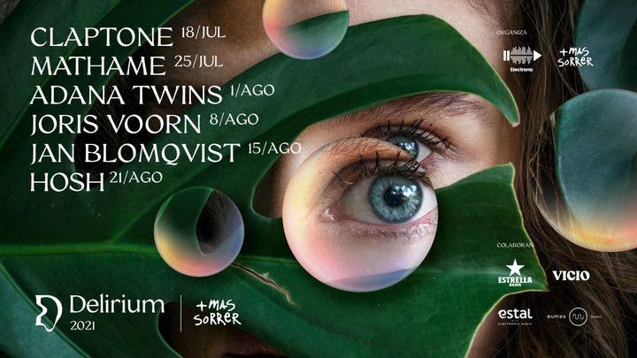 Cover for event: Delirium Festival presenta Adana Twins