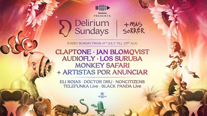 Cover for event: DELIRIUM SUNDAYS presenta CLAPTONE